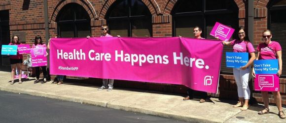planned parenthood health care happens here