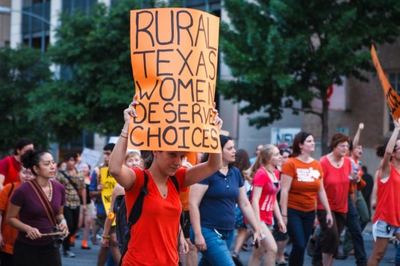 texas protest abortion